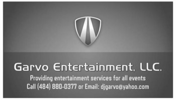 Garvo Music & Entertainment. Wedding DJ Services