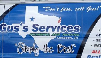 Gus's Services = Plumbing & Heating