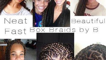 Box Braids-Neat-Fast-Beautiful