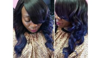 ALL WEAVES $100.00!! INCLUDES STYLE