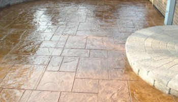 STAMPED CONCRETE - STAINED CONCRETE. Elite Waterproofing & Coatings
