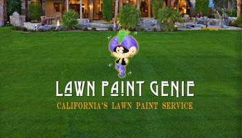 Drought Solution. Lawn Painting Service