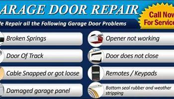 Garage Door Repair. Best price and quality guaranteed
