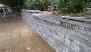 Retaining walls and accent walls