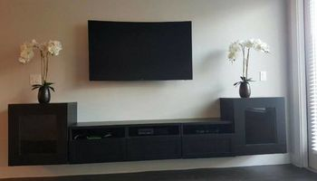 TV mounting/TV installation/home theater/security cameras