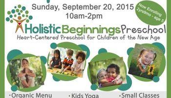 OPENING September 2015 - Holistic Beginnings Preschool