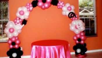 Balloon party and event decoration