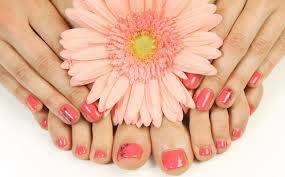 Mani-Pedi combo for $30 and Free eyebrow wax!