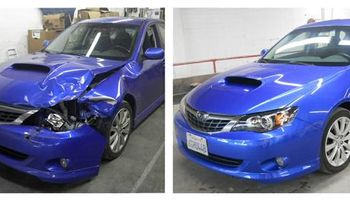 WE WILL WAIVE YOUR DEDUCTIBLE (auto body repair service)