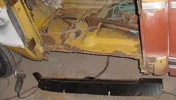 Floor Pans -- PANELS REPLACED -- FABRICATION WORK -- WELDING REPAIRS