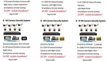 Camera Security System & Installation - CCTV Service