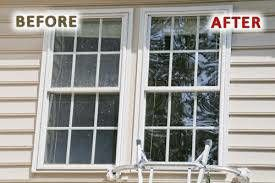 Window cleaning service $75 inside and out