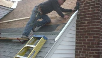 Collins Builders Roof Replace Chimney Flashing Capping