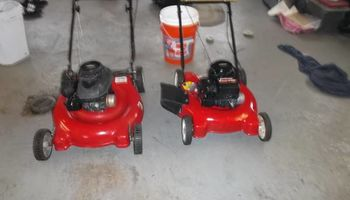 Engine of power washers, lawn mowers, hedge trimers repair