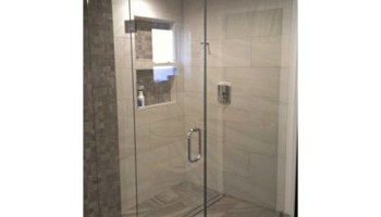 Artisan Glass and Mirror Corp. Heavy Glass Frameless Shower Doors