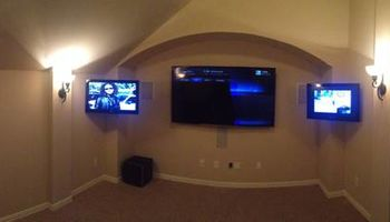 Flatscreen TV and Home Theatre Installation (Star City Install)