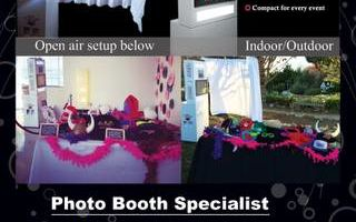 Rent our Photo Booth and Event Lighting