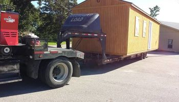 Eagle Transport Services. I move Portable buildings!!