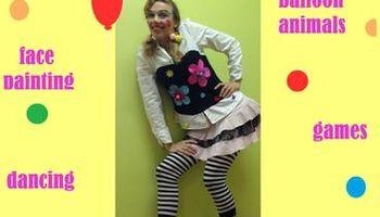 Clown for Children Birthday Party