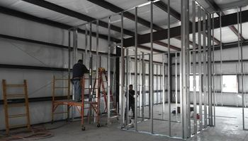METAL DRYWALL PARTITIONS - CALL NOW!