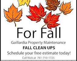 Gaillardia Property Maintenance. Affordable Fall Clean Ups