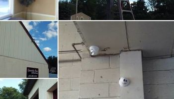 Gordon Audio Visual Installation. Audio/Video Setup and Security Cameras
