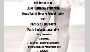 Kids Ballerina Birthday Parties