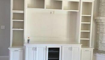 Anybody need cabinets.