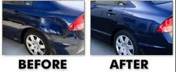Mobile auto body work