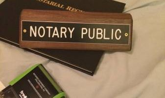 Notary Service Seven Days a Week!
