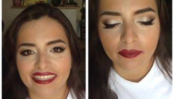 Makeup artist - $50 includes false eyelashes
