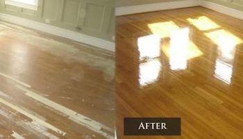 Hardwood Refinishing for less
