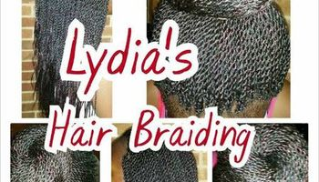 Lydia's Hair Braiding. Special prices! In Dallas-Richardson area