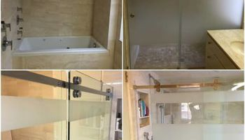 Shower door installation and repear