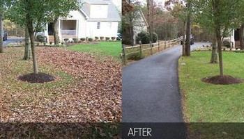 Vottero Landscape. Schedule Your FALL LEAF CLEANUPS Today... Professional & Affordable!