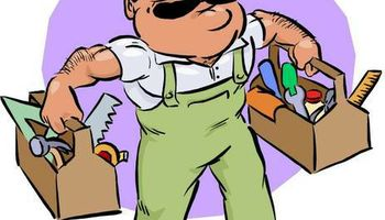 Handy man - roof leaks , electrical, plumbing, patching walls, Kitchen