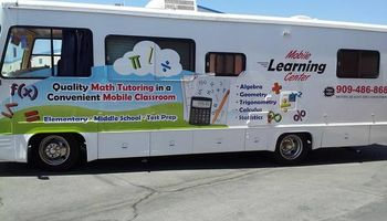 Experienced tutors in a mobile classroom