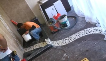 Professional Tile Installation by Christine or Mario