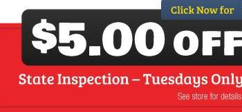 Carlos Auto Inspecciones - at 7$ up to 25$ depending on vehicle