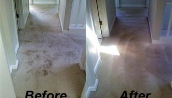 CARPET CLEANING, ONE MAN OPERATION $25