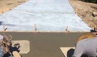 Quality custom concrete finishing/stamping