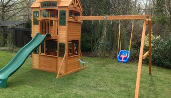 Swing Set Installations. The Best In The Tri-State Area