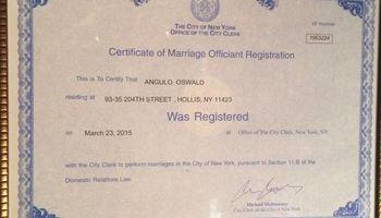 Minister Ozzy_NY Wedding Officiant