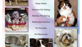 Families have trusted us to sit for their pets for over 15 years