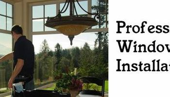 Window Installation Services - Window Installs- Custom Work