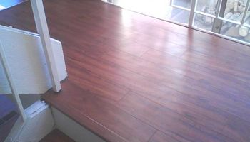 Laminate Flooring $300/day
