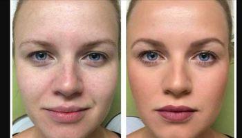 Skin care. Gold Mask