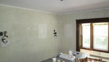 New interior paint & wallpaper removal