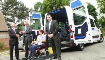 HANDICAP TAXI. Wheelchair accessible private VAN for HIRE