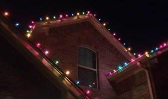 Christmas Lights Custom Install
